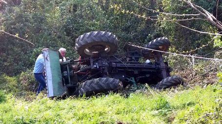 Il trattore ribaltato (Cardini)