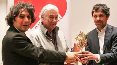 La premiazione di Paul Verhoeven