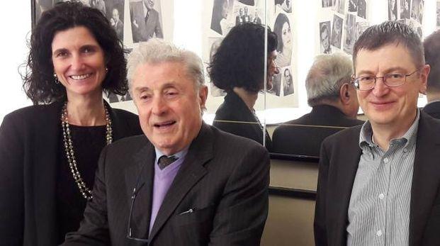 Emanuela e Andrea Raimondi con  Luciano Sita