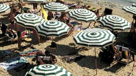 Un spiaggia attrezzata