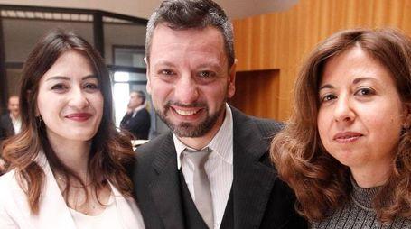 Il giudice Romeo, il pm Natalini e il giudice Garrapa