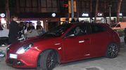 La Giulietta, l'Alfa Romeo rossa fiammante che accompagna l'ispettore nei suoi inseguimenti (Foto Schicchi)