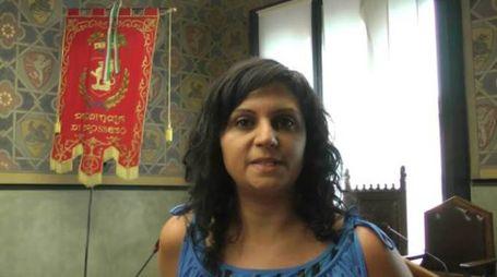 Il sindaco Romina Sani