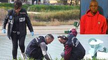 Omicidio a Rimini, nel rquadro la vittima Makha Niang (Migliorini)