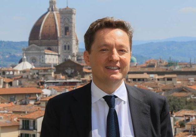 """La presentazione di """"Crescere tra le righe"""". Nella foto il presidente dell'Osservatorio Permanente Giovani-Editori, Andrea Ceccherini (Germogli)"""