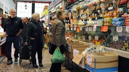 Il mercato coperto cittadino