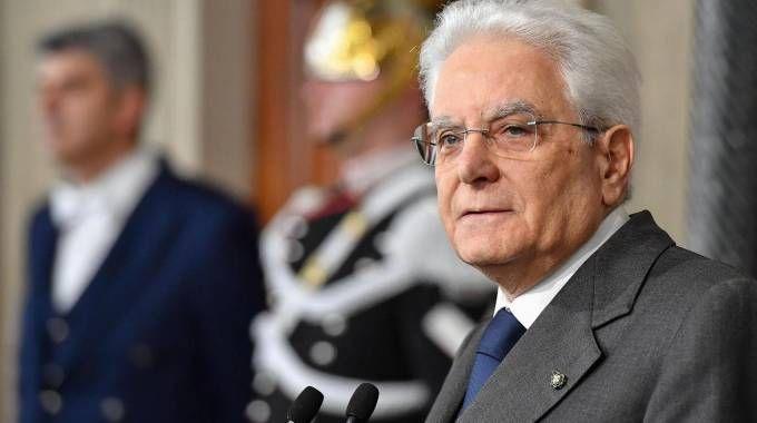 Il presidente Sergio Mattarella (Ansa)
