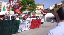 La manifestazione di Casapound