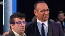 Corazzi con Carlo Conti (Rai Uno)
