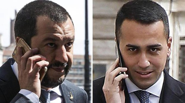 Combo: Matteo Salvini e Luigi Di Maio (Ansa)