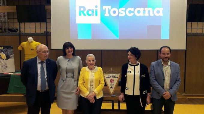 Da sx Marco Vichi, Elisabetta Nencini, Maria Pia Biaggio, Caterina Motta, Lapo Nencini
