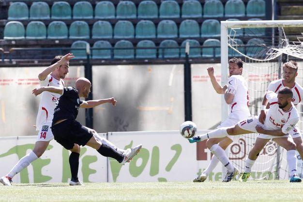 Siena-Cuneo, le foto della partita (Di Pietro)