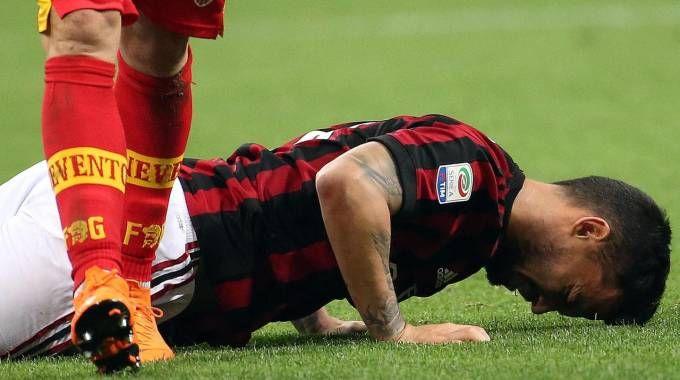 Milan-Benevento 1-0 (Ansa)