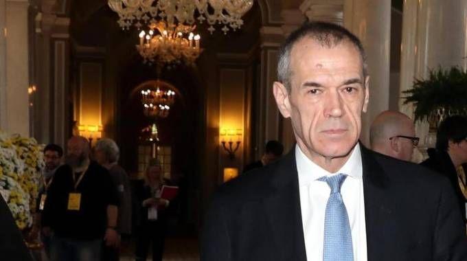 Carlo Cottarelli (Ansa)