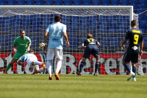 Lazio-Sampdoria 1-0, gol di Milinkovic-Savic (Ansa)