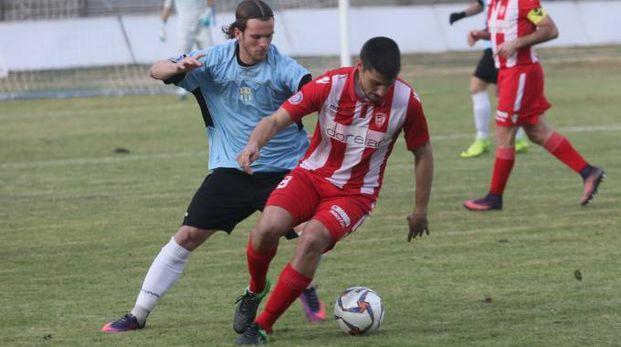 Il centrocampista Alessio Galeotti, al secondo gol stagionale