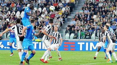 Juventus-Napoli 0-1, il gol di Koulibaly (Ansa)
