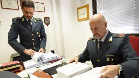 La Guardia di Finanza al lavoro (foto repertorio)