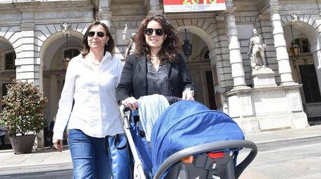 Torino, Chiara Foglietta e Micaela Ghisleni (Ansa)
