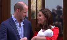 Royal baby 3, prima foto con mamma e papà (Screenshot da YouTube)