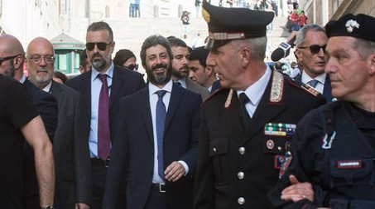 Il presidente della Camera Roberto Fico (ImagoE)