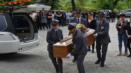Il funerale di Matteo Ghirelli (Foto Artioli)