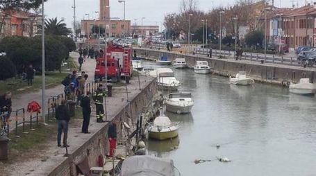 RICERCHE Le ispezioni del canale Albani il giorno della scomparsa di Carla Rovaldi