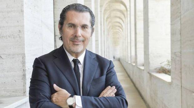 ALLA GUIDA Marco Astorri, presidente  di Bio-On, fondatore  della società insieme con Guy