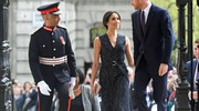Meghan Markle e il principe Harry allo Stephen Lawrence memorial (Lapresse)