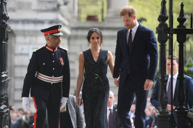 Meghan Markle e il principe Harry allo Stephen Lawrence memorial (Lapresse)