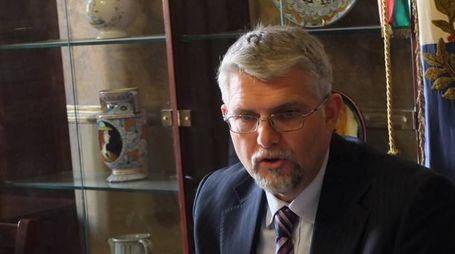 il sindaco di Faenza, Giovanni Malpezzi