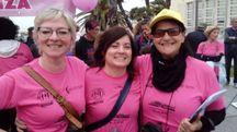 Oltre 200 persone hanno partecipato alla marotana contro la violenza di genere organizzata dalla Casa delle Donne