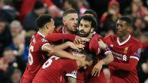 Salah, doppietta in Liverpool-Roma (LaPresse)