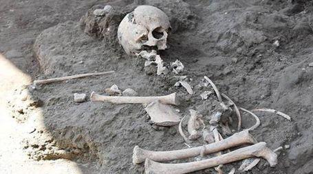 Pompei, trovato lo scheletro di un bambino alla Terme Centrali (da pompeiisites.org)