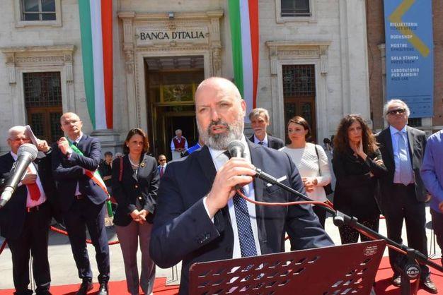 Il presidente della Regione Stefano Bonaccini (foto Artioli)