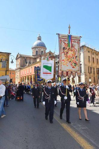 Le celebrazioni (foto Artioli)