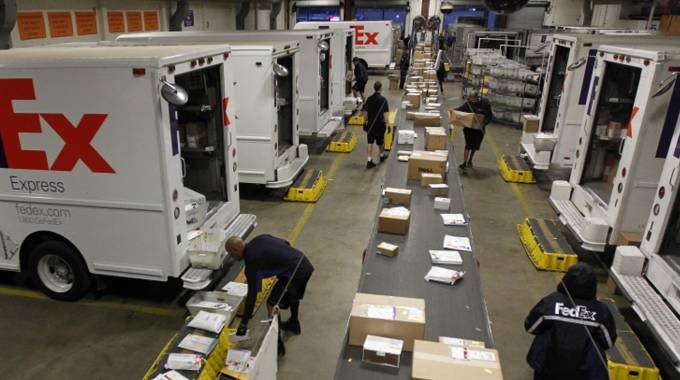 I lavoratori alla FedEx