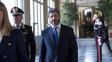 Roberto Fico al Quirinale (ImagoE)