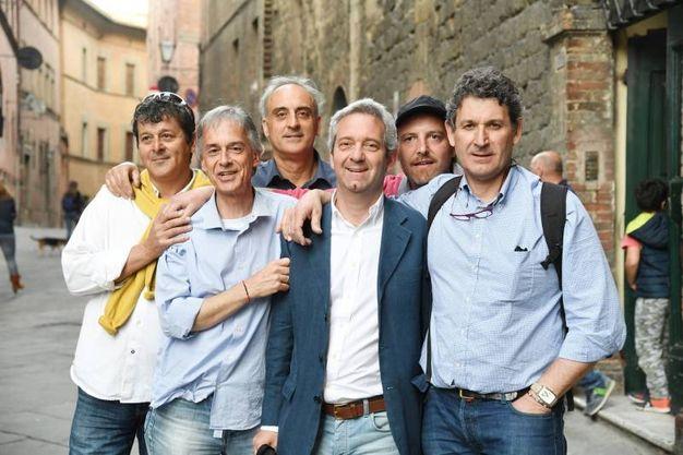Cessione Lucchese. Gruppo di tifosi Lucca United (Alcide)