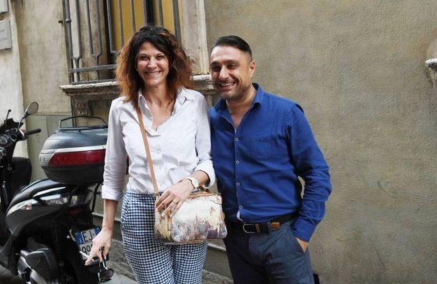 Lorenzo Grassini con la moglie Nicoletta Cardin (Alcide)