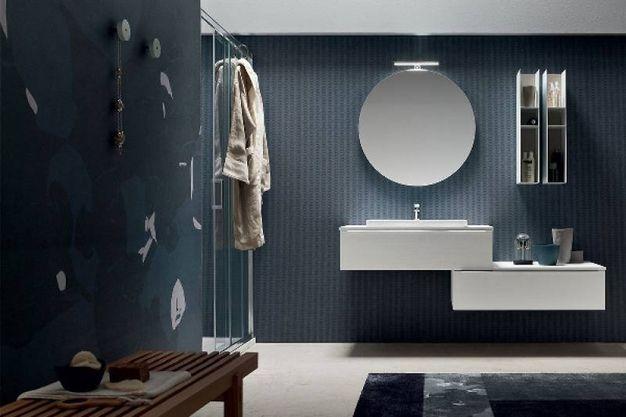 Personalizzare il bagno con la carta da parati magazine - Il bagno magazine ...