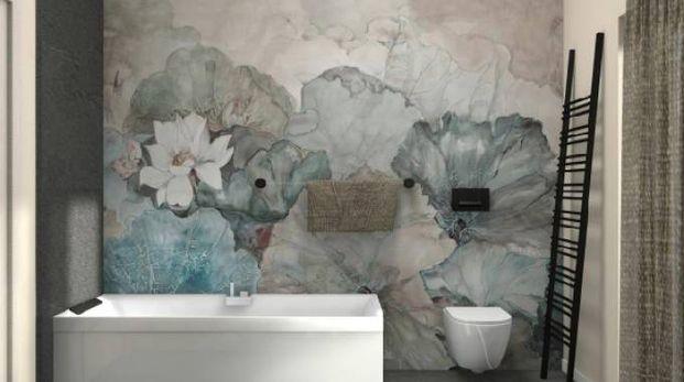 Personalizzare il bagno con la carta da parati - Magazine - Tempo ...