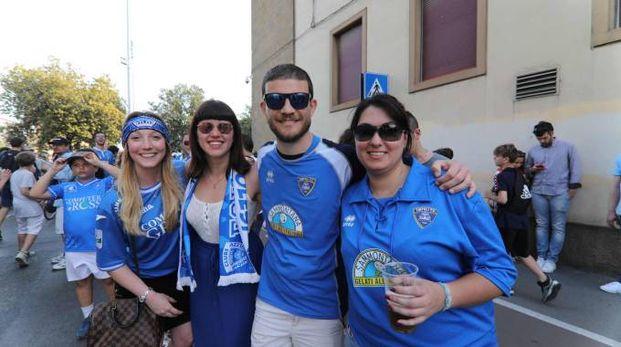 Empoli, la festa per la promozione in Serie A (Foto Germogli)