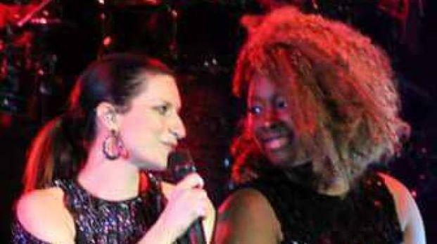 INSIEME Ariane in tour con Laura Pausini, per ben quattro anni