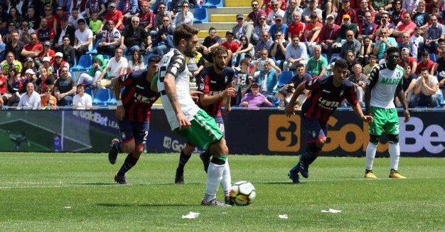 Il gol di Berardi (Ansa)
