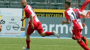 Simoncelli autore del primo gol (foto Petrangeli)