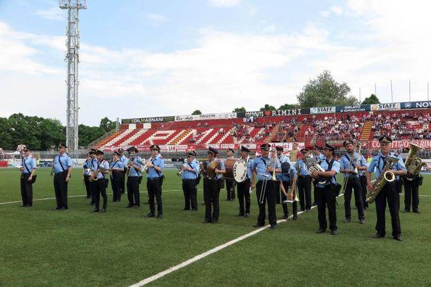 La banda (foto Petrangeli)