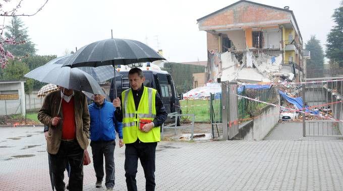 Il crollo della palazzina di Rescaldina