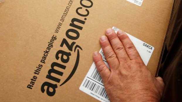 Un pacco di Amazon (Ap)