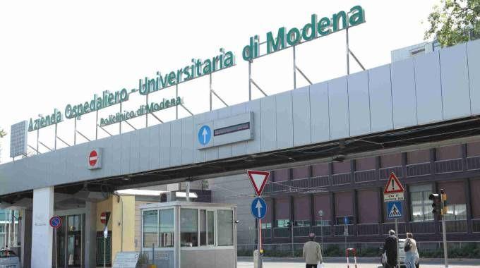 L'ingresso del Policlinico (FotoFiocchi)